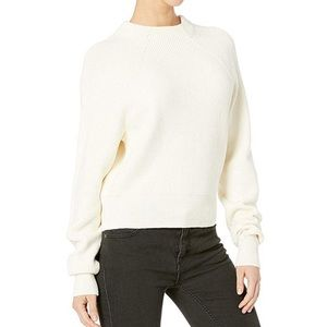 Free People Too Good Ribbed Trim Pullover Sweater